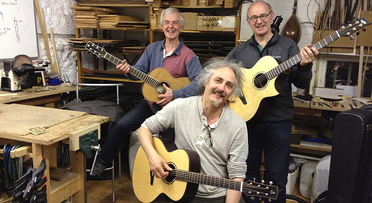Guitar Making Course 2014